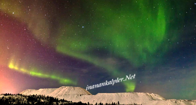 Norveç Üzerinde – Aurora