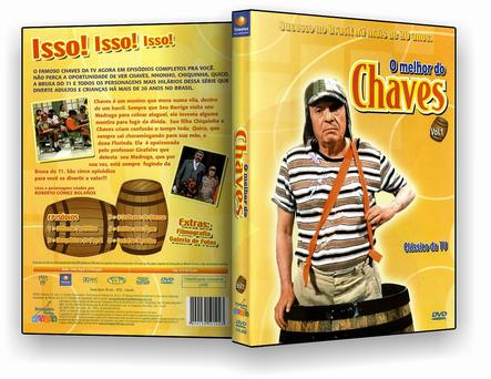 Coleção O Mlehor Do Chaves – 8 Discos – DVD-R