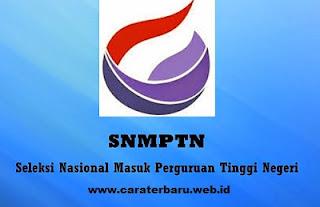 Cara Pendaftaran Online SBMPTN Terbaru