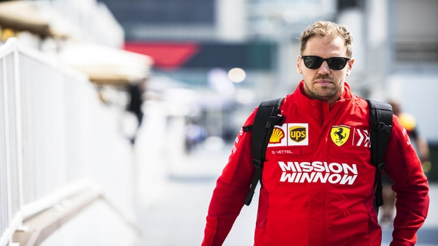 Sebastian Vettel: Ferrari suffers from tires this year more than ever