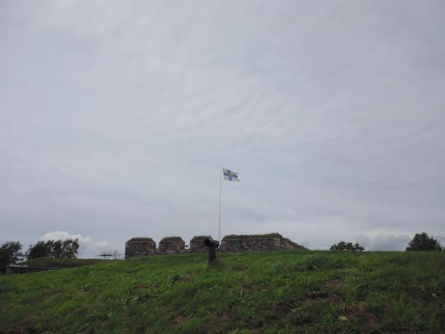 Bastión de la Bandera en la Fortaleza de Suomenlinna (Helsinki) (@mibaulviajero)