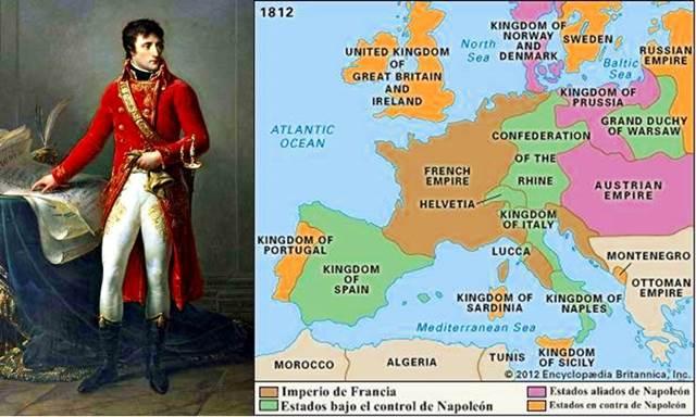 Guerras napoleónicas paz economía