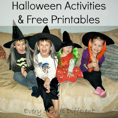 Halloween Activities and Free Printables