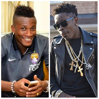 """Watch Video : Asamoah Gyan aka Baby Jet Buggies to Shatta Wale's """"ONLY DEM"""" Song in his beautiful Apartment"""