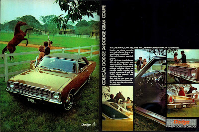 propaganda Chrysler Dodge Gran Coupe 74 - 1973