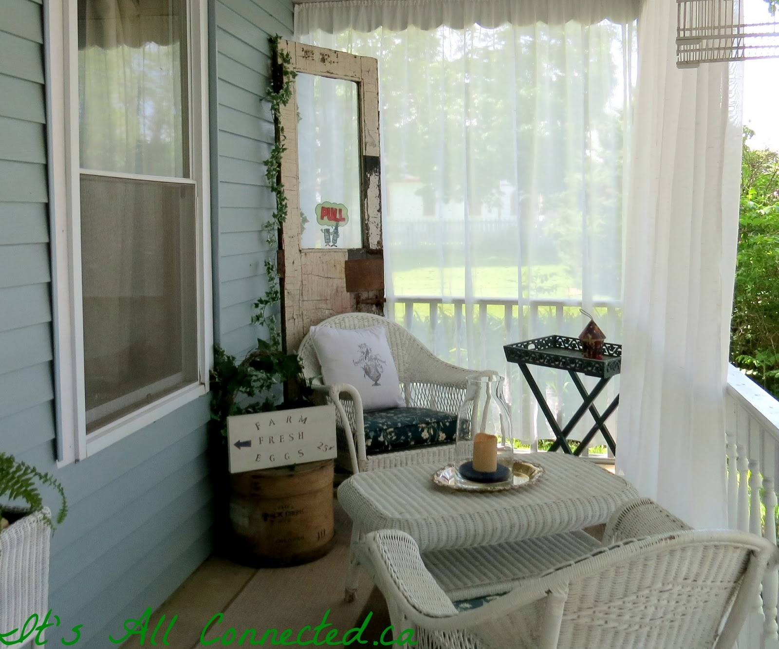 It S All Connected Outdoor Curtains Tutorial