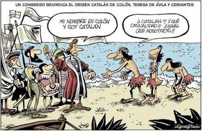 catalán, Colón, Teresa de Ávila, Cervantes