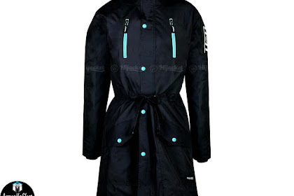 Hijacket Parka Montix BLACK x BLUE