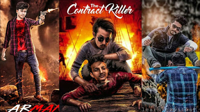 Contract killer photo editing picsart tutorial 2019 background download