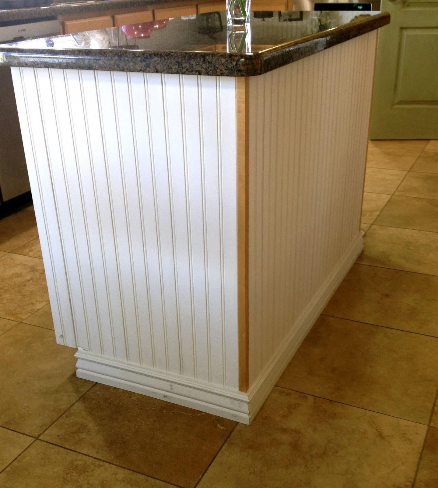 Update Kitchen Cabinet Doors: Little Bit Of Paint: Kitchen Island Update