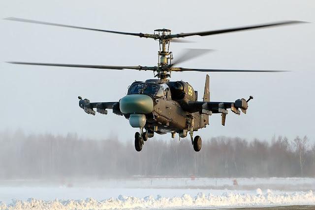 Gambar 15. Foto Helikopter Tempur Kamov Ka-52 Alligator
