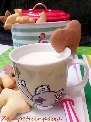 Biscotti con pasta frolla allo yogurt