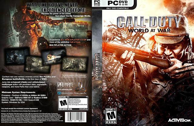Capa Call Of Duty World At War PC