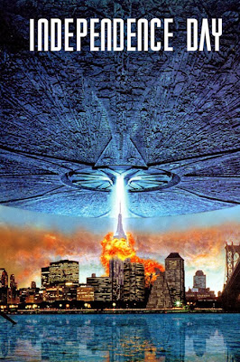 Poster original Independence Day 1996