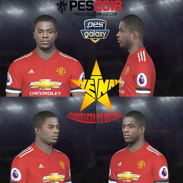 Eric Bailly Face PES 2018