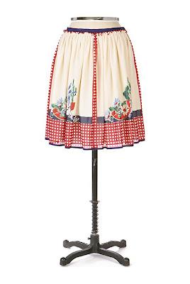 Anthropologie Desert Picnic Skirt by Anna Sui