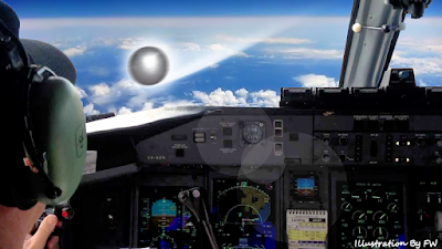 Plane Takes Evasive Maneuvers to Dodge UFO; Investigation Pursues