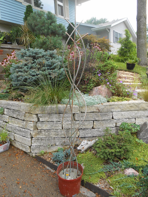 Sproutsandstuff: DIY Copper Garden Art from Copper Tubing