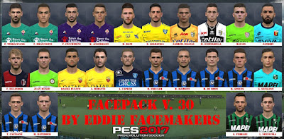 PES 2017 Facepack vol 30 by Eddie Facemaker