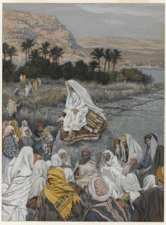 Jesus Sits by the Seashore and Preaches (Matthew 5)