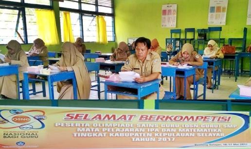 80 Guru Ikut Olimpiade Sains 2017, TK., Kabupaten Kepulauan Selayar