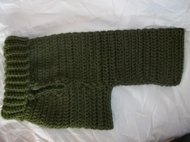 Copper Llama Studio Easy Crochet Dog Sweater For Small Breed Dogs