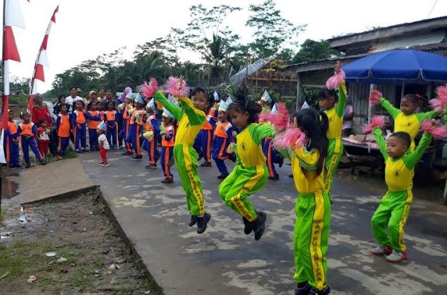Desa Nusantara Gelar Lomba Senam Germas