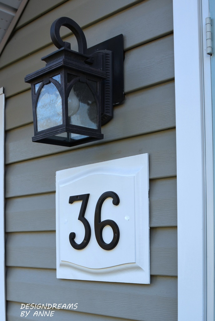 Designdreams By Anne House Number Update