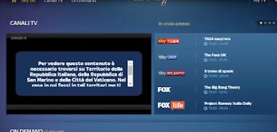 Débloquer Sky Sport en dehors de l'Italie avec VPN