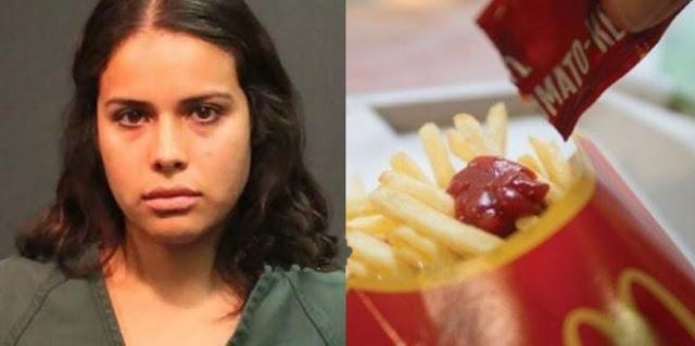 Karna Kurang Saos Tomat Saat Makan Burger, Wanita Ini Emosi Lalu Cekik Manager Tempat Makan Tersebut