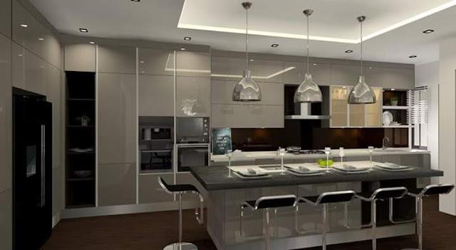 Modern Kitchen Cabinet Design - Meridian Interior Design