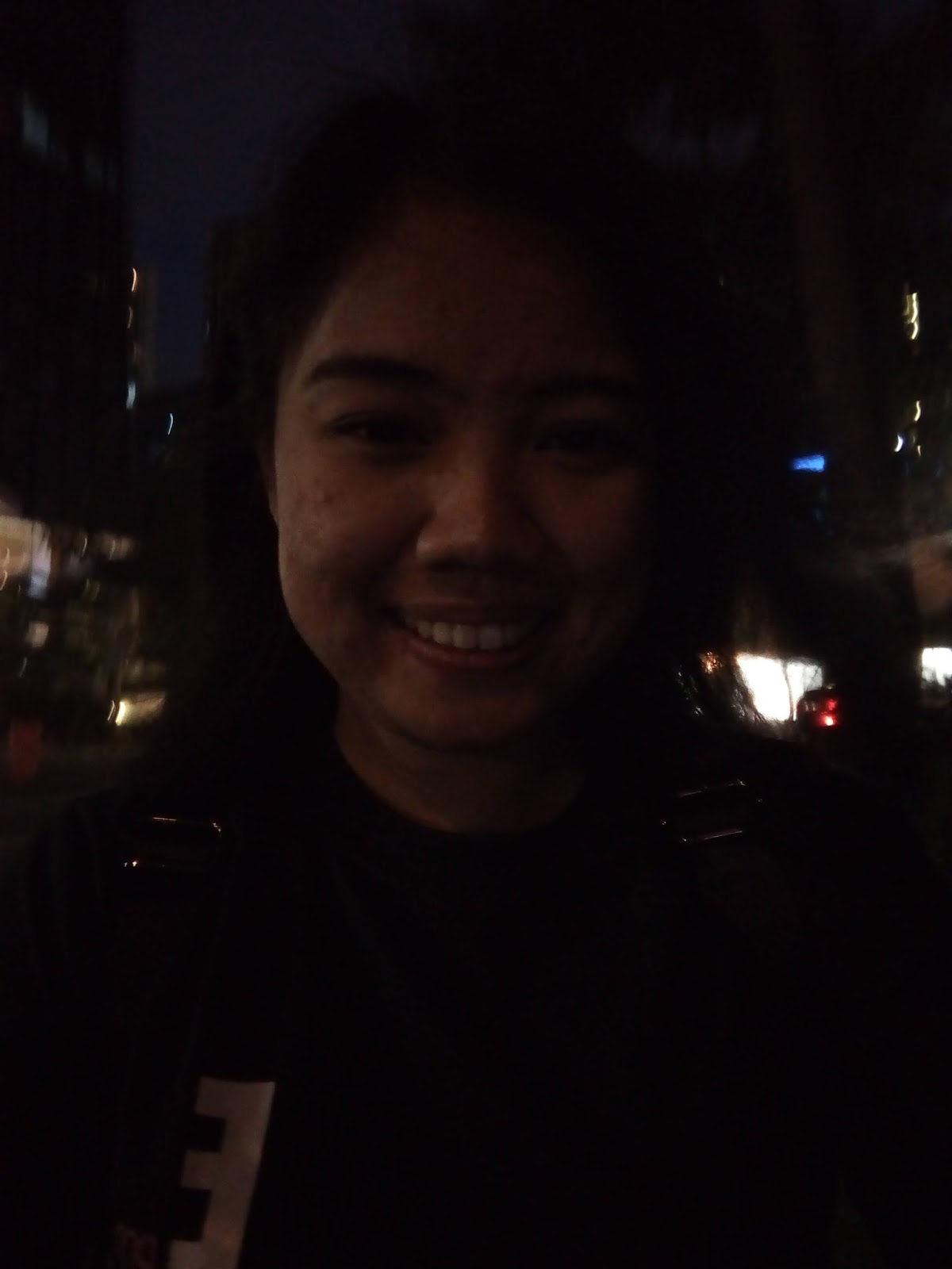 Cloudfone Excite Prime 2 Front Camera Sample - Night (Selfie)