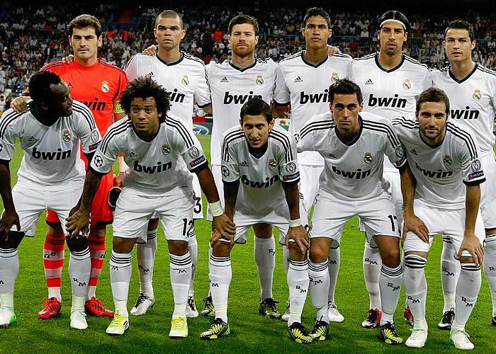 Spain Football Team 2012: REAL MADRID TEAM PHOTO CHAMPIONS ...
