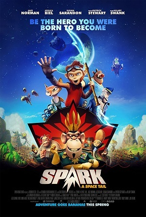 Spark - Uma Aventura Espacial Blu-Ray Filmes Torrent Download capa