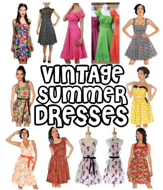 633374f6630b Vintage Style Summer Dress Patterns ✓ Labzada Blouse