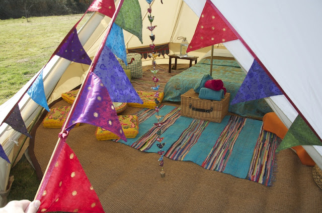 Backyard Camping Bohemian Style {boho hippie camping} on camping party ideas for teens, backyard party ideas for teens, camping checklist for teens,