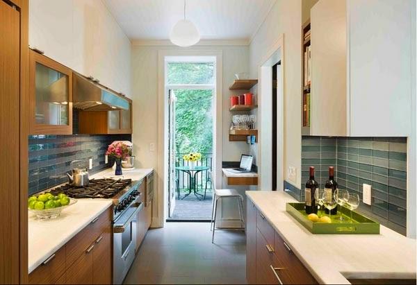 Foto Desain Dapur Minimalis Kecil dan Mungil ~ Ayeey.com