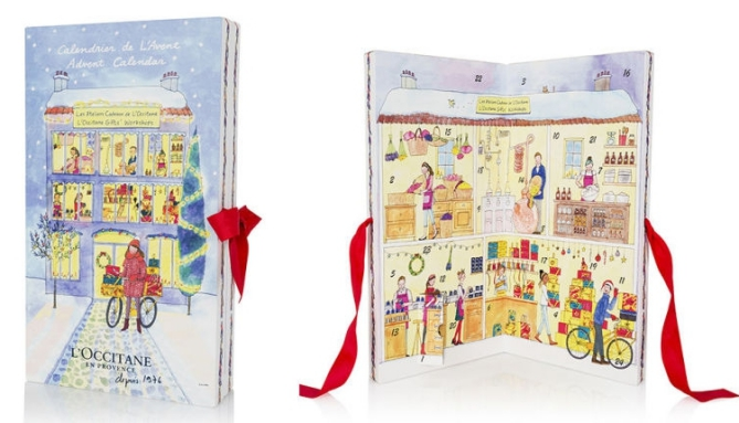 L'Occitane beauty Advent calendar 2016 calendrier de l'avent Adventskalender