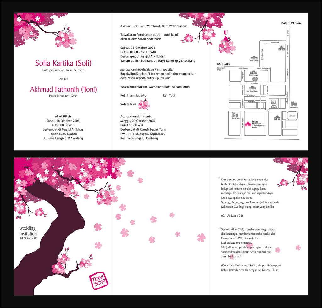 Wedding Invitation Design Templates: Wedding Invitation Design