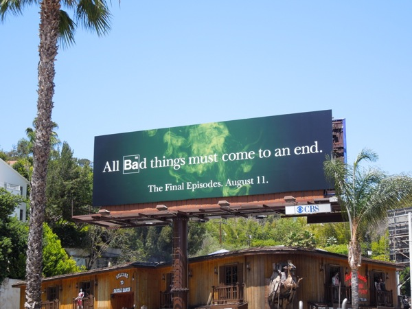 Breaking Bad series finale billboard