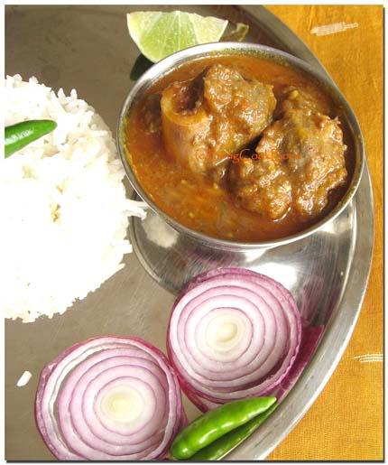 Mangshor Jhol, Bengali Mutton Curry, Sunday Mutton Curry