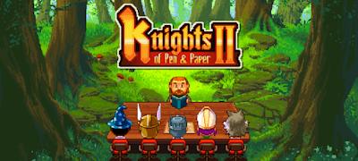 لعبة Knights of Pen & Paper 2 مهكرة للأندرويد - تحميل مباشر