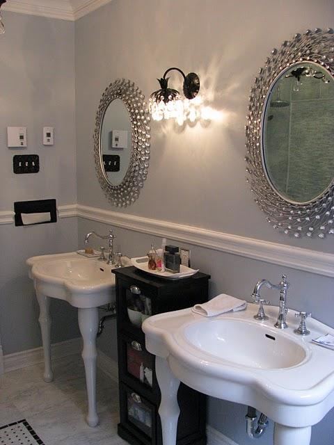 Remodelaholic Gorgeous Complete Bathroom Transformation Gut - Bathroom gut and remodel