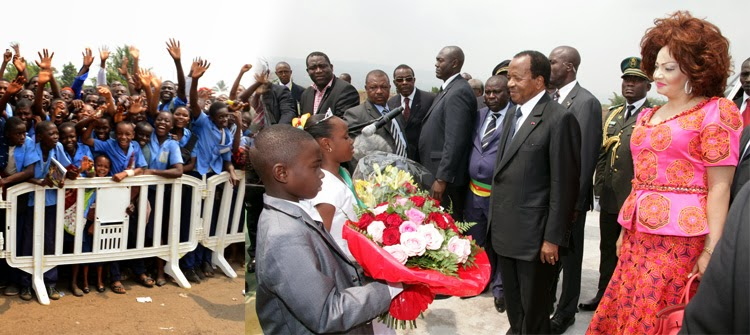 The RECORDER Newsline: Cameroon:President Paul Biya in Buea for ...
