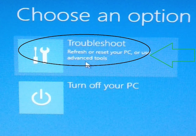 Troubleshoot windows 8
