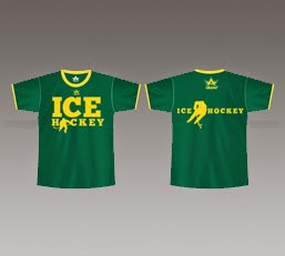 Ice Hockey T shirts