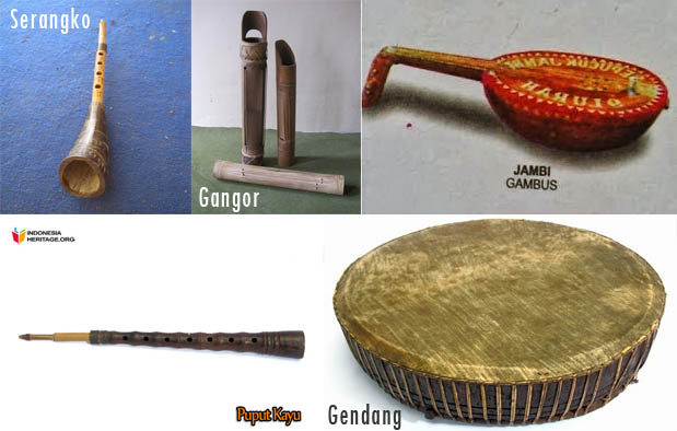 8 Alat Musik Tradisional Jambi Nama Gambar Dan Penjelasannya Lensa Budaya