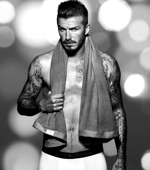 Beckham tattoos on arms