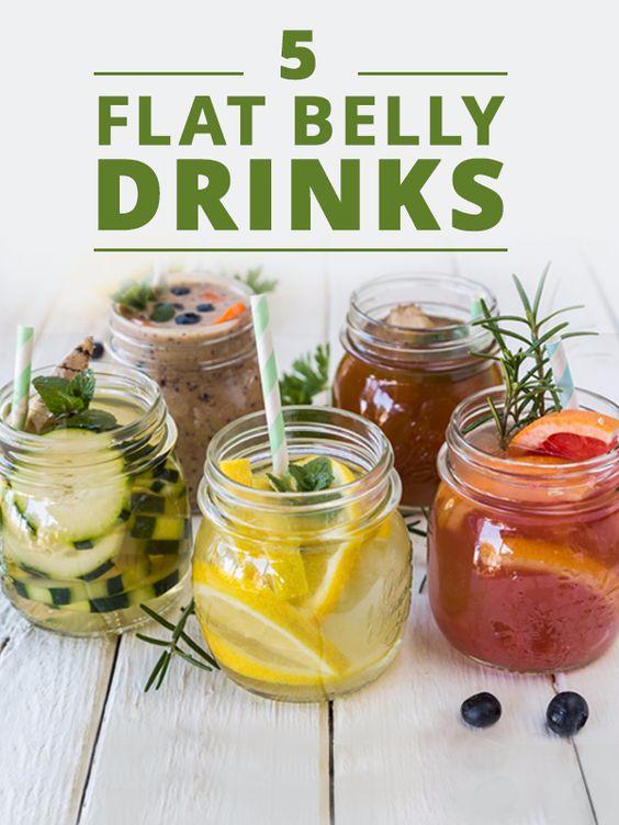 5 Flat Belly Drinks