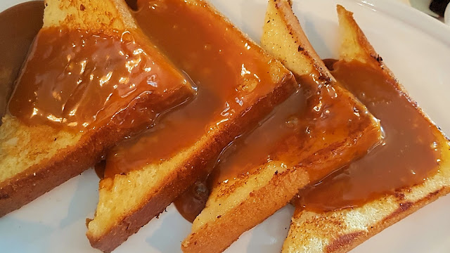 French Toast with Salted Caramel